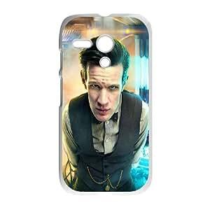 Motorola G Cell Phone Case White_Doctor Who Matt Smith Hdozk