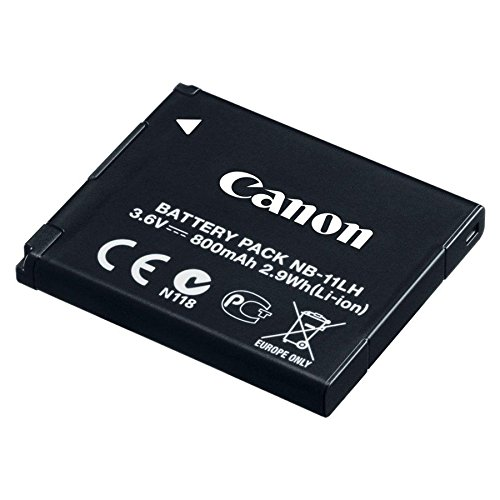 Canon NB 11LH Rechargeable Battery for Camera - Black