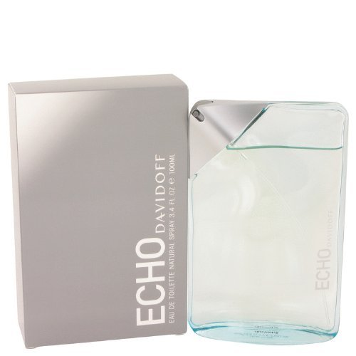 Davidoff Echo Eau de Toilette Splash For Men, 3.4 Ounce