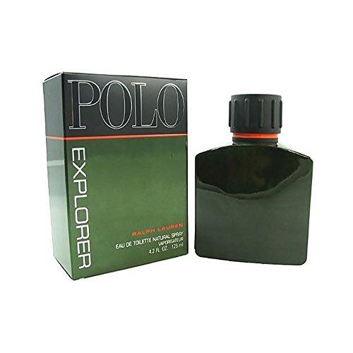 Polo Explorer by Ralph Lauren for Men, Eau De Toilette Natural Spray, 4.2 Ounce ()