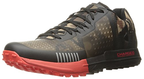 Under Armour Men Horizon RTT Trail Running Shoes Ridge Reaper Camo Ba (900)/Risk Red