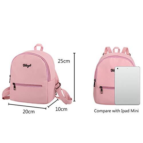 Pattern Travel Simple Women Backpacks UKCNSMXJD Student Ladies Preppy Kawaii Grey Lychee Style Bag School Rucksack Solid wvfqA8
