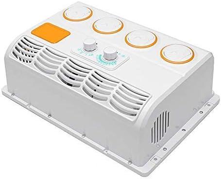 HenShiXin Mejor 12V 24V Auto Portátil Miniferable Coche Colgando Aire Acondicionador de Aire Fan Cooler (Color: 24V) Exquisito (Color : 24v)