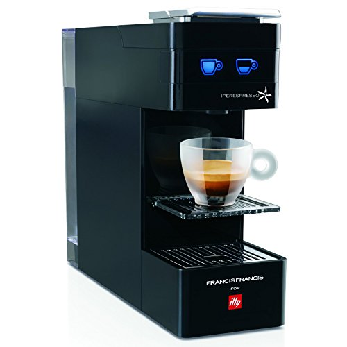 illy Francis Francis Y3 iperEspresso Machine, Black by Francis Francis for illy