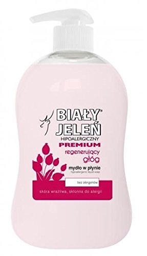 BIALY JELEN PREMIUM - Liquid soap with hawthorn extract - 300ml