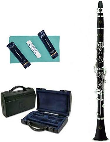 Buffet B12 Bb - Clarinete con estuche y accesorios (acabado cepillado) (906378): Amazon.es: Instrumentos musicales