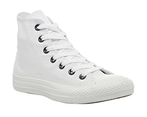 Converse Ctas Core Hi, Baskets mode mixte adulte Blanc Mono