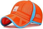 XibeiTrade Kids Breathable Quick Dry Mesh Baseball Cap Boy Girl Sun Hat