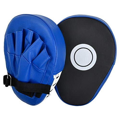 Punching Mitts Boxing Mitts Focus Pad Box for MMA Target Muay Thai Pads Kickboxing Training Strike Target Hand Pads Martial Arts Punching Shield (Punching Gear)