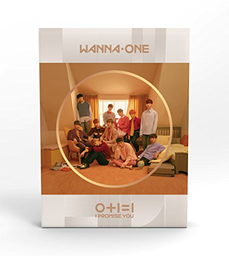 WANNA ONE - 0+1=1 I PROMISE YOU (2nd Mini Album) [Day ver.] CD+Photobook+Photocard+Mirror Card+Tazo+Folded Poster+Free Gift (I 1 1)
