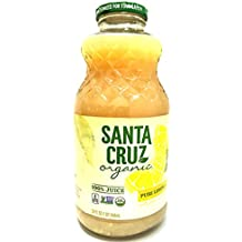 Santa Cruz 100% Organic Pure Lemon Juice, Not From Concentrate, 32 oz | Pack of 1