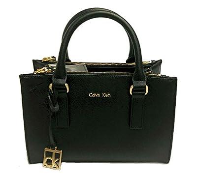 Calvin Klein Women's Black Scarlett City Double Zip Carry All