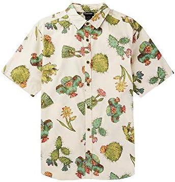 Burton Shabooya Camp SS Camisa Cactus para hombre, Cactus, L: Amazon.es: Deportes y aire libre