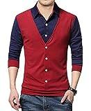 EYEBOGLER Regular Fit Men's Cotton T-Shirt (EBT16-WRNB,5PNB,WHNB)