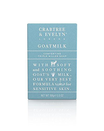 Crabtree & Evelyn Triple Milled Soap, Goatmilk, 3.5 oz