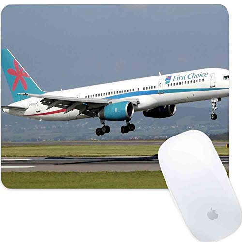 (Mouse Pad Rectangle Mouse Pad Airplane Takeoff B757 Aircraft Aviation Commercial #545316 Prevalent 800mm300mm3mm)