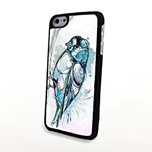 iPhone 6 Case,PC Phone Cases Colorful Vivid Cute Bird Matte Pattern fit for 3D Comic Apple iPhone 6 Case 4.7 Inch