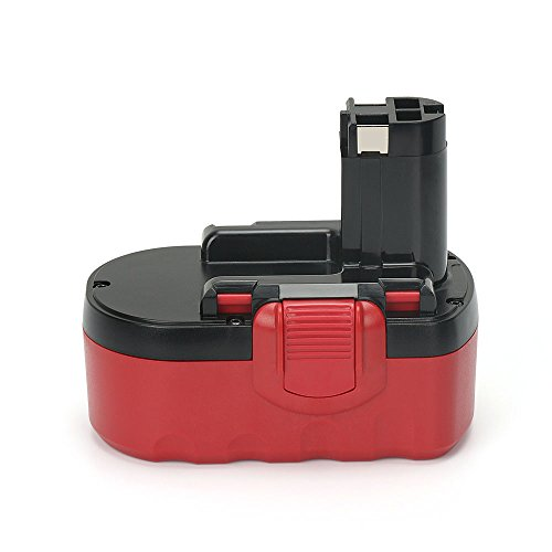 PowerGiant 18V 3.0Ah NiMh Replacement Battery for Bosch BAT181 BAT180 BAT025 BAT026 BAT160 BAT189 3453 33618 3860K 52318B GDR 18 V GDS 18 V Cordless Drill ()