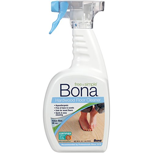 - Bona Free & Simple Hardwood Floor Cleaner - 36oz Spray