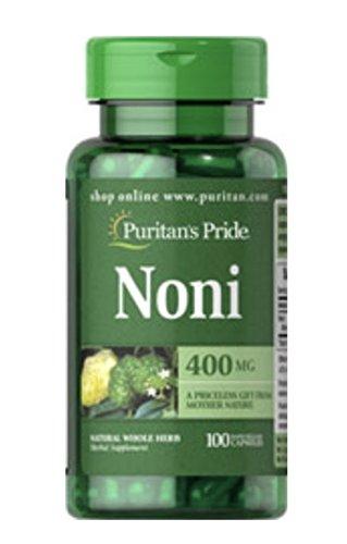 Puritans Pride Noni 400 mg-100 Capsules: Amazon.es: Salud y cuidado personal