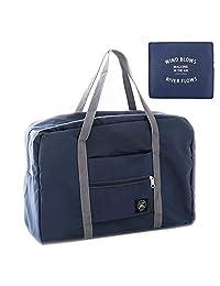 Artone Water Resistant Nylon Foldable Travel Duffel Bag Sports Gym Luggage Deep Blue