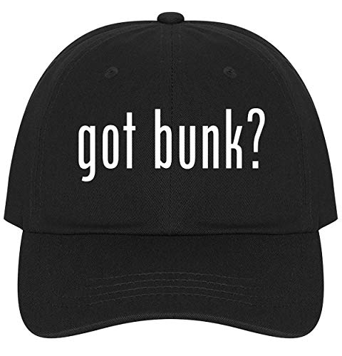(The Town Butler got bunk? - A Nice Comfortable Adjustable Dad Hat Cap, Black)