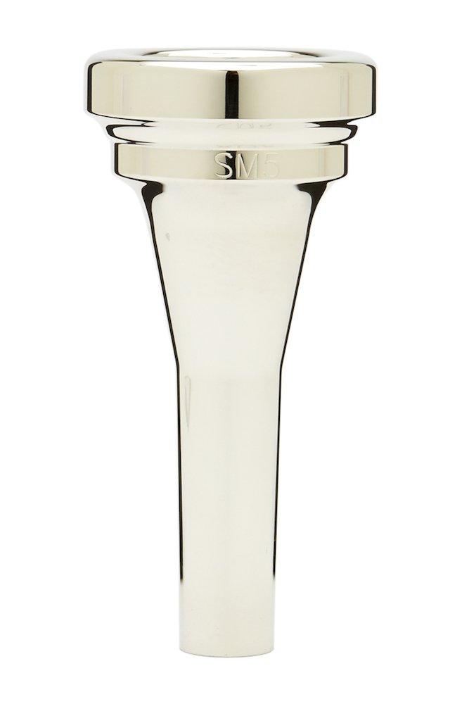 Denis Wick DW5880E-SM5 Silver-Plated Euphonium Mouthpiece, Steven Mead model
