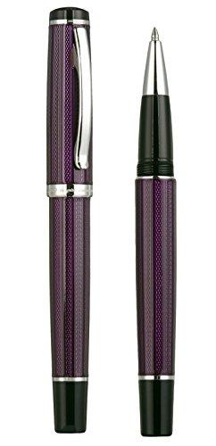 Xezo Diamond Cut Gel Ink Rollerball Pen (Incognito Purple R) by Xezo (Image #1)