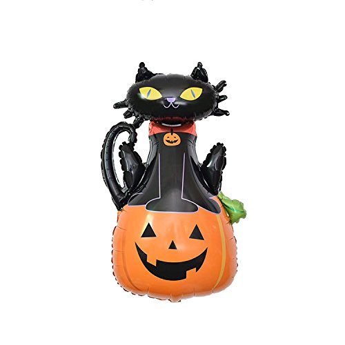 Super Funny Halloween Pumpkin/Cat Foil Balloon Party Decor Party Supply, Halloween, Party -