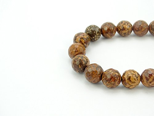 jennysun2010 Natural Fireworks Stone Gemstone 8mm Faceted for sale  Delivered anywhere in Canada