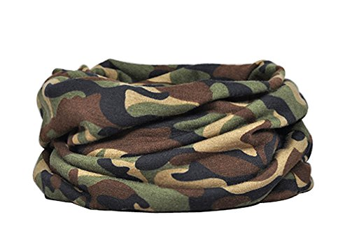 Camouflage Pattern Cycling Hiking Outdoor Sports Neck Warmer/Gaiter D