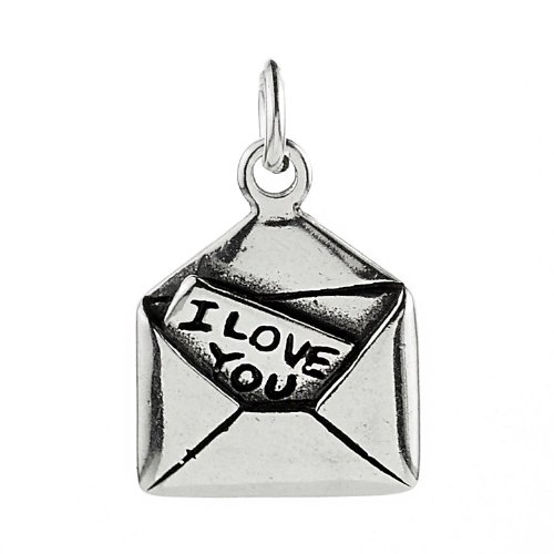 925 Sterling Silver I Love You Letter Charm