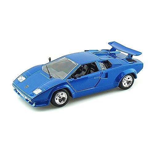 Lamborghini Countach 5000 Quattrovalvole Blue 1/24