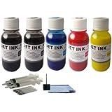 HP Pigment 5X100ML Refill ink kit for 950 950XL 951 951XL Officejet Pro 8100 & 8600