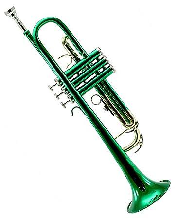 Amazon.com: Sky Band - Trompeta con funda, paño, guantes y ...