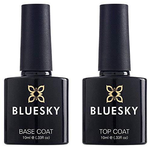 Bluesky Top And Base Coat Nail Geluv 10 Mls Requires Drying Under
