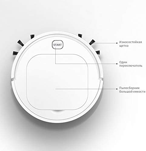 N / A Une Aspirateur Intelligent Robot Lazy, USB de Charge à Vide Nettoyage Balayer Cleaner Tapis, for la Machine de Nettoyage ménagers