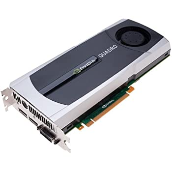 NVIDIA Quadro 6000 by PNY 6GB GDDR5 PCI Express Gen 2 x16 DVI-I DL Dual DisplayPort and Stereo OpenGL, DirectX, CUDA, and OpenCL Profesional Graphics Board, VCQ6000-PB