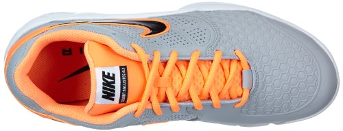 010 Shoes Grey Tennis Courtballistec Men's 1 Soft Multicolored Nike 4 Air Orange SqBpcwA