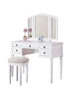 Amazon Com Bobkona St Croix Collection Vanity Set With