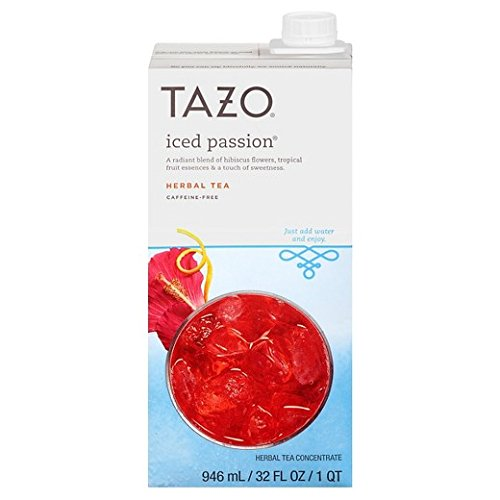 Tazo Iced Passion 32 oz (Pack of 2)