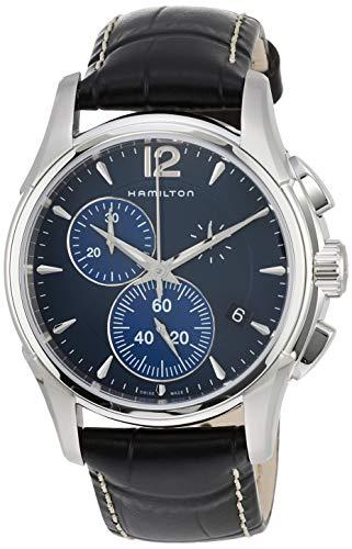 ساعت مچی مردانه همیلتون مدل H32612741 با بند چرمی