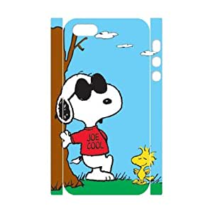 HXYHTY Design Case of Snoopy Phone 3D Case For iPhone 5,5S [Pattern-6]