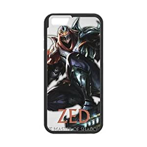 iPhone 6 Plus 5.5 Inch Cell Phone Case Black League of Legends Zed Vdxnzu Hard protective Case Shell Cover