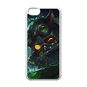 League Of Legends Omega Squad Teemo Iphone 5C Cell Phone Case White JN75CC00