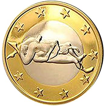 ee338830ad7d Amazon.com : MITIY 1 Pc Sex Coins, Euro 34 Different Position Hard ...