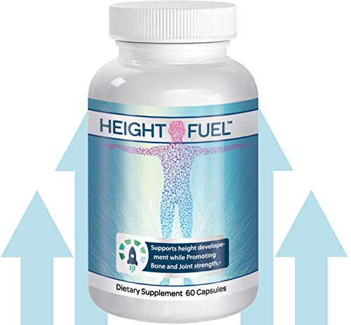 ⚡ Height Fuel by Success Chemistry® – Maximum Strength Height Fuel Enhancement & Powerful Antioxidant – Natural Bone Support & Joint Growth Formulation – Grow Taller Faster