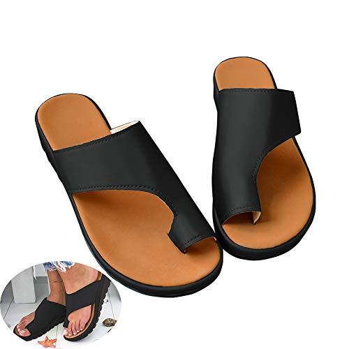 Women Sandal Comfy Platform Sandal Shoes 2019 New Summer Slides Slippers Sandal Toe Platform Flip Flop Shoes Beach Travel Shoes