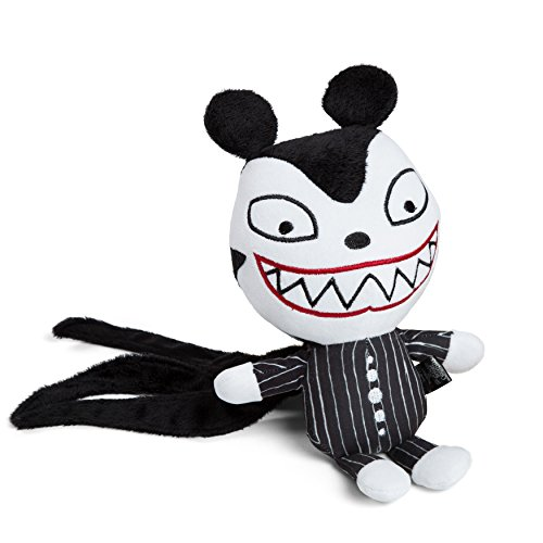Disney Nightmare Before Christmas Scary Teddy Plush Dog toy / Cat Toy, Chew Toy, Built-in Squeaker, Collector's Edition ()