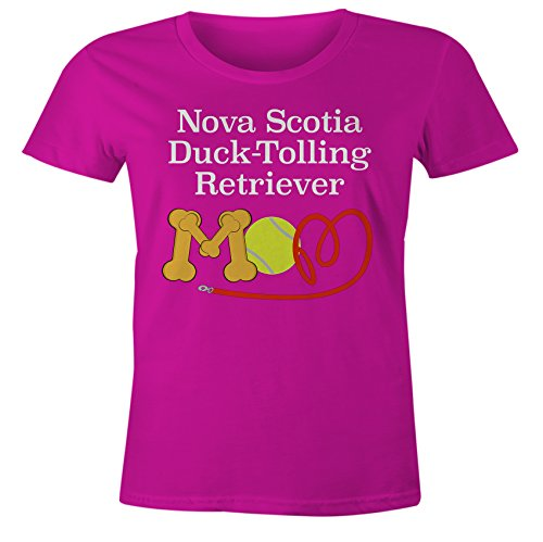 You've Got Shirt Funny Nova Scotia Duck Tolling Retriever Mom Dog Breed T-Shirt - Pink Form Fitting - MD